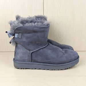 UGG | Gray Fur-Lined Now Boots